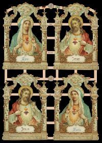 Glanzbilder - Heilige Familie