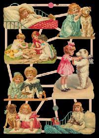 Glanzbilder - Kinder