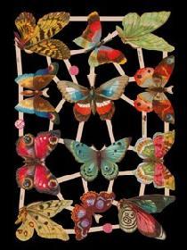 Glanzbilder - Schmetterling