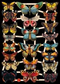 Glanzbilder - Schmetterlinge