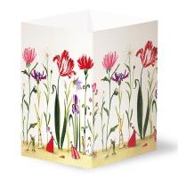 Transparentleuchten - Blumengarten