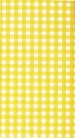 Mitteldecke Karo yellow