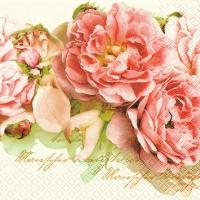 Servietten 25x25 cm - Mary Roses