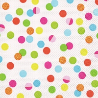 Servietten 25x25 cm - Party Dots