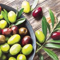 Cocktail Servietten Pure Olives