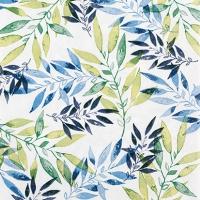 Servietten 25x25 cm - Watercolour Leafs green