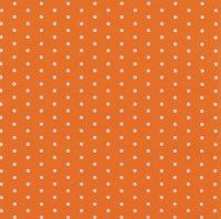 Servietten 25x25 cm - Mini Dots orange