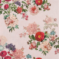 Servietten 25x25 cm - Elisabeth Rose
