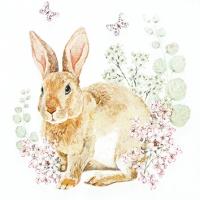Servietten 25x25 cm - Rosi Rabbit