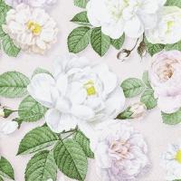 Servietten 25x25 cm - La Rosa rose