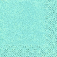 Servietten 25x25 cm - Moderne Farben Aqua