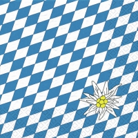 Lunch Servietten Edelweiss Bayern