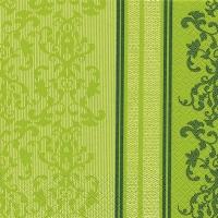 Servietten 33x33 cm - Barock Spitze grün