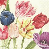 Servietten 33x33 cm - Amsterdam Tulips Mona Svärd