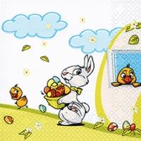 Lunch Servietten Get the Easter Eggs