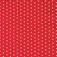 Servietten 33x33 cm - Mini Dots red/white