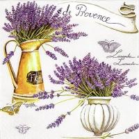 Servietten 33x33 cm - Provence