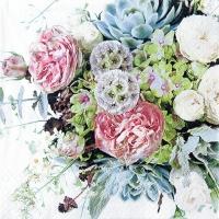 Servietten 33x33 cm - Flower Variety