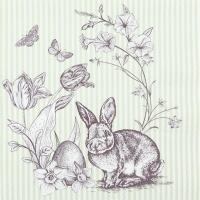 Servietten 33x33 cm - Easter Scene