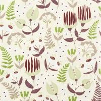 Servietten 33x33 cm - Tropical Flora