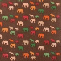 Servietten 33x33 cm - Elefantisch