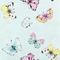 Servietten 33x33 cm - Süße Papillons