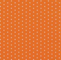 Servietten 33x33 cm - Mini Dots orange