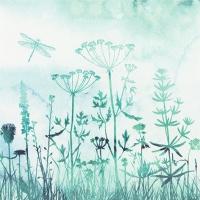 Servietten 33x33 cm - Grasses