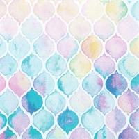 Servietten 33x33 cm - Watercolour Shells