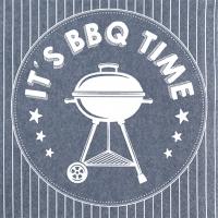 Servietten 33x33 cm - BBQ Time