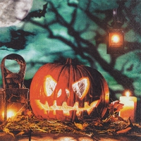 Servietten 33x33 cm - Halloween