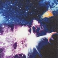 Servietten 33x33 cm - Galaxy