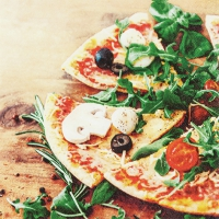 Servietten 33x33 cm - Pizza