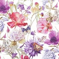 Servietten 33x33 cm - Floral Poem