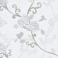 Servietten 33x33 cm - Bridget stone - silver