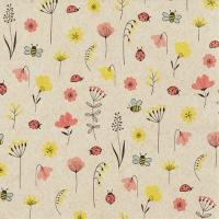 Servietten 33x33 cm - Ladybugs and Bees
