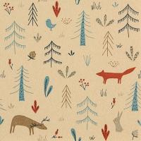 Servietten 33x33 cm - Forest Animals