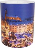 Dekorkerze - Annaberg Christmas Flair 99 mm