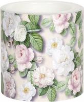 Dekorkerze - Rosa rose