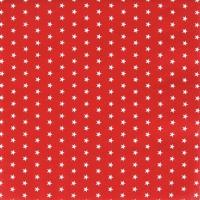 Servietten 25x25 cm - Mini Stars red