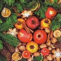 Servietten 25x25 cm - Christmas Variety