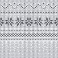 Servietten 25x25 cm - Knitted nordic