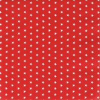 Servietten 33x33 cm - Mini Stars red
