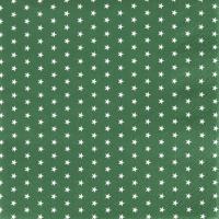 Servietten 33x33 cm - Mini Stars green