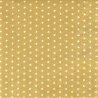 Servietten 33x33 cm - Mini Stars gold