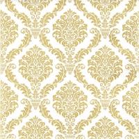 Servietten 33x33 cm - Elegant gold