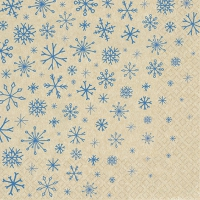 Servietten 33x33 cm - Snowflakes Falling