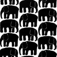 Servietten 33x33 cm - Elefantti