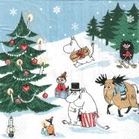 Servietten 24x24 cm - Christmas Wonderland