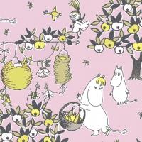 Servietten 33x33 cm - Festive Moomin pi